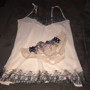 Sexy sheer nude babydoll & panty set/lingerie💋